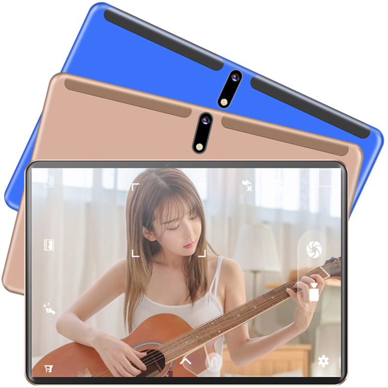 10.1 Inch Tablet Android 9.0 MT6762 Octa Core Tablette Tactile 4G LTE Kids Netbook Tablet ROM 128GB 5G WIFI 5MP+13MP 6000mAh
