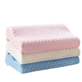 Подушка для сна, дивана, подушка из пены с эффектом памяти, одноцветная, супер мягкая Ортопедическая подушка для шеи BE47001