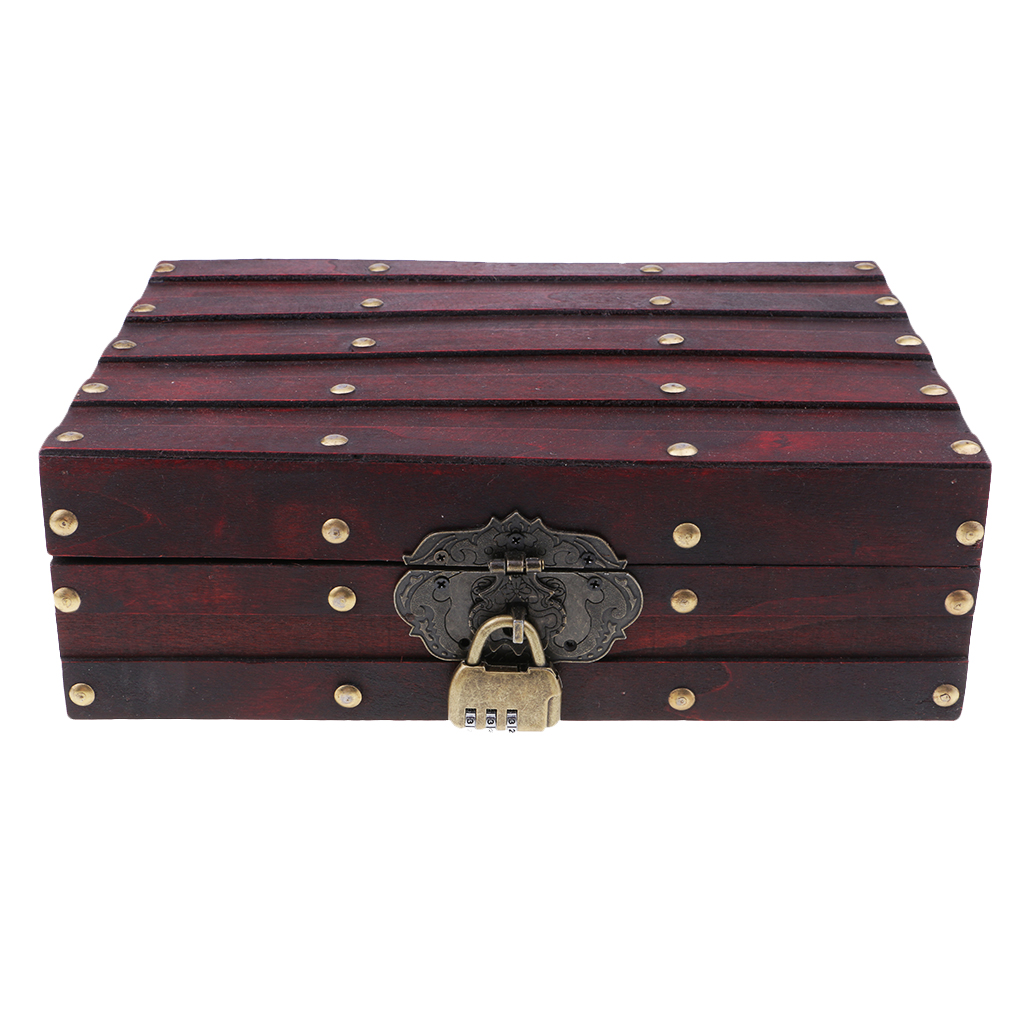 Chinese Retro Vintage Style Wooden Jewelry Box Necklace Storage Box Case шкатулка для украшений