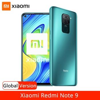 "Global Version Xiaomi Redmi Note 9 128GB NFC Smartphone MTK Helio G85 Octa Core 48MP Quad Rear Camera 6.53"" DotDisplay 5020mAh"