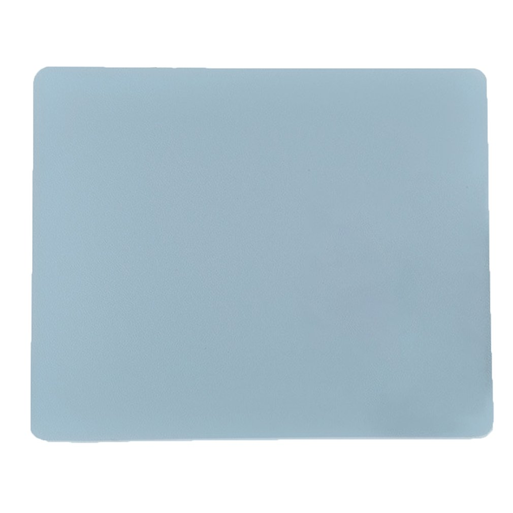 Fashion Notebook Mouse Pad Non-slip PU Leather Waterproof Computer Mouse Pad Simple Office Game Desktop Table Mat