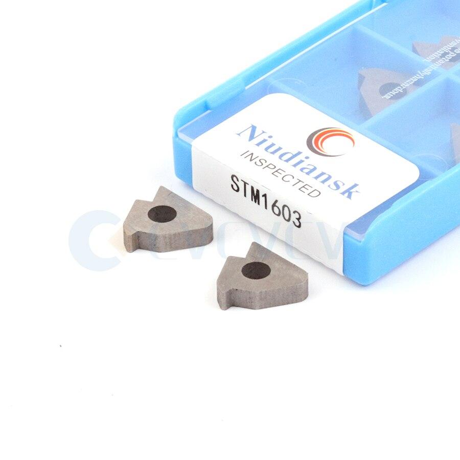 10pcs STM1603 STM1603L STM1603R STM22R STM22L High Quality CNC Threaded Carbide Shim Thread Insert Support Gasket For CNC Lathe