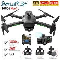 ZLL Camera Drone 4K professionale SG906 Max con 3 assi Gimbal 5G Wifi GPS Dron 1.2KM Brushless FPV pieghevole Quadcopter SG906 Pro2
