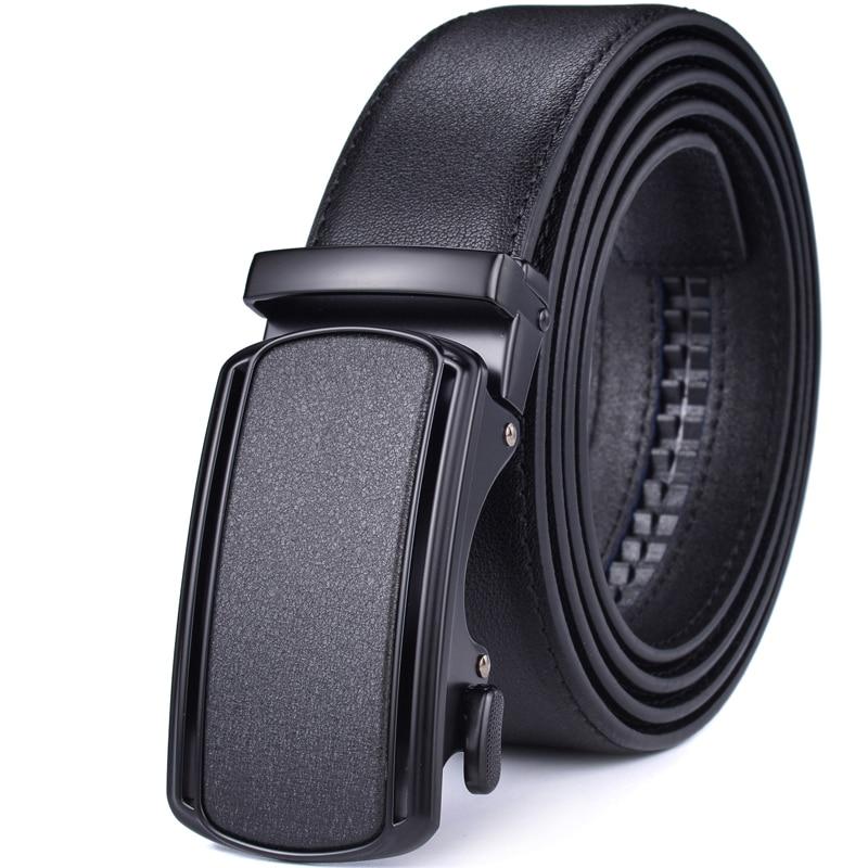 Ratchet Belt for Men Leather Dress Belts with Automatic Buckle