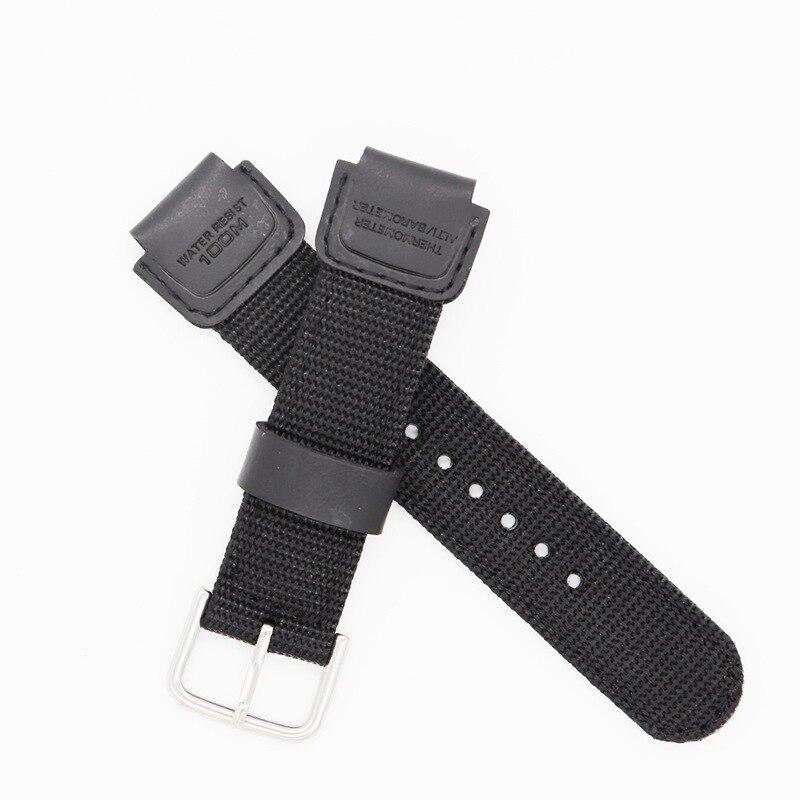 Substituição fivela de pino de náilon cinta para casio g-shock GX-56BB GXW-56 pulseira de relógio para casio gx56bb gxw56 pulseira cinto