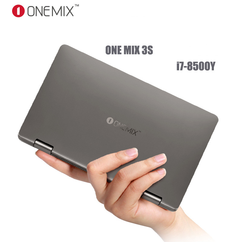 "8.4"" IPS 16G 512G One Mix 3S Platinum Edition Yoga Pocket Laptop Intel Core i7-8500Y Dual-Core Dual Band WIFI Type C"