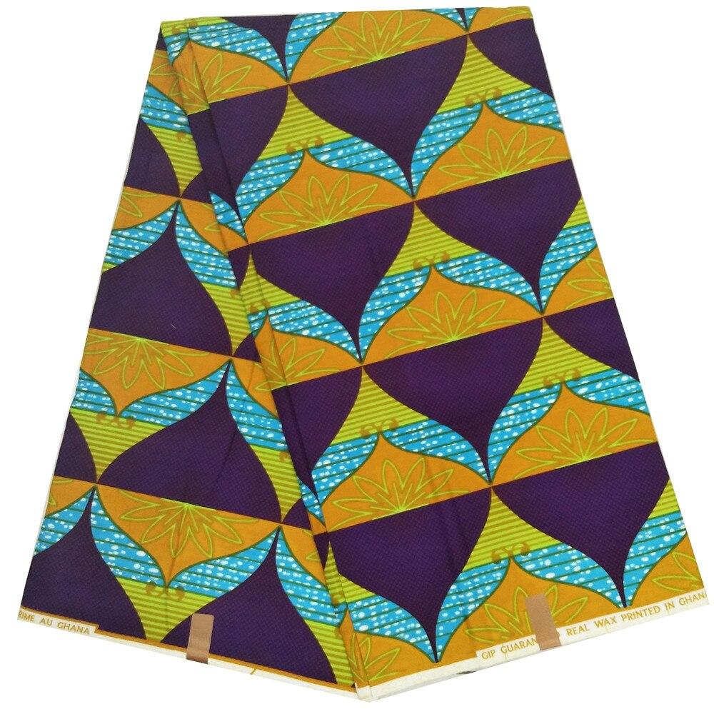African Wax Print Super Qualité Ankara tissu de coton 4 Crafts /& robes par yard
