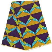 2019 Ankara wrapper wax Dutch veritable African Wax Prints Fabric 6 Yards 100% cotton 2019 dutch wax print fabric ankara fabrics veritable african wax prints fabrics 100