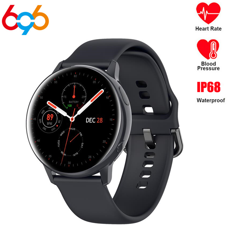 Smart Watch SG2 Full Round Touch Women Men ECG+PPG IP68 Dial Download Bluetooth Music For Samsung Xiaomi Huawei Android Phone image