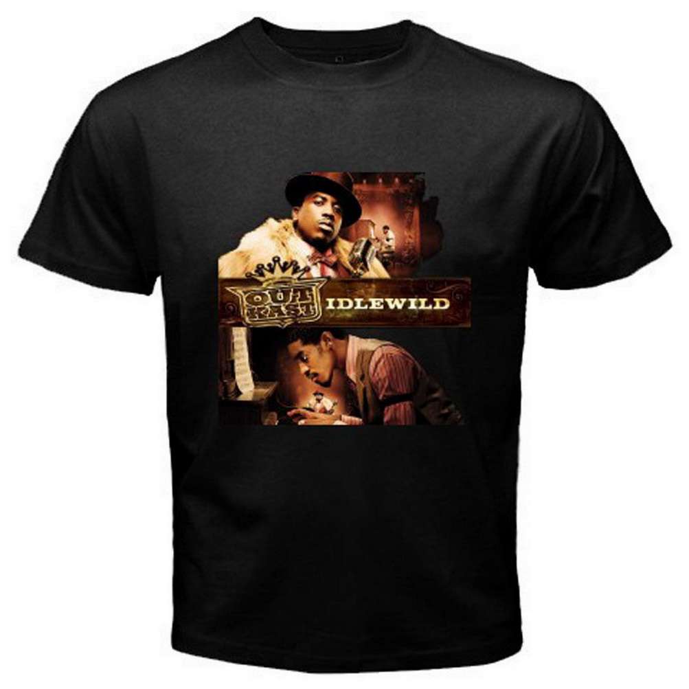 New Outkast Idlewild Album Hip Hop Men's Black T-Shirt Size S To 3XL TEE Shirt Custom Screen Printed image