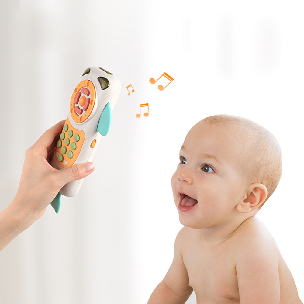 Baby Mobile Phone Simulation Touch Screen Cute Toys For Baby Music Phone Toys Early Educational  Learning Telephone Baby Toys