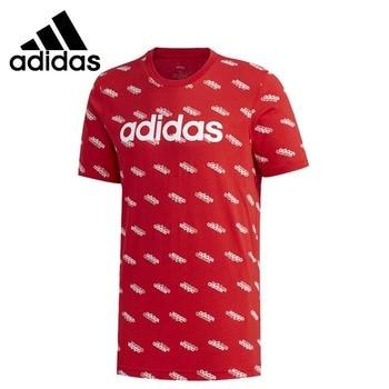Novedad Original, camiseta Adidas M FAV, camisetas para hombre, ropa deportiva de manga corta
