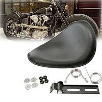 Motorcycle Waterproof Passenger Cushion Pad Seat Rear Solo Seat Universal for Harley Suzuki Yamaha Kawasaki Bobber Chopper