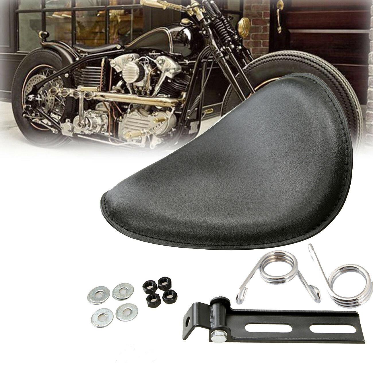 Moto étanche passager coussin coussin siège arrière Solo siège universel pour Harley Suzuki Yamaha Kawasaki Bobber Chopper