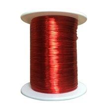 Прочный красный Магнитный провод 0,2 мм 100 м QA эмалированная медная проволока магнитная катушка обмотка для электрической машины DIY Электромагнит