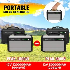 600W/1000W LCD Solar Power Sto