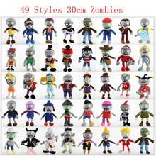 Baby Toy Plush-Toys Stuffed-Doll Black Soft 49-Styles 30cm-Plants Jeans PVZ Clown Vs