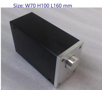 hifi aluminum us ac power distributor 6 outlet power supply box chassis case Size: W70 H100 L160 DAC Amplifier Case Mini Aluminum Chassis Power Supply amplifier box PSU BOX DIY Case A0609
