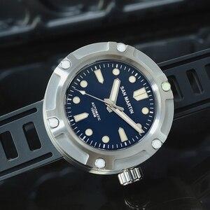 Image 4 - Мужские механические часы San Martin для дайвинга, 1000 м
