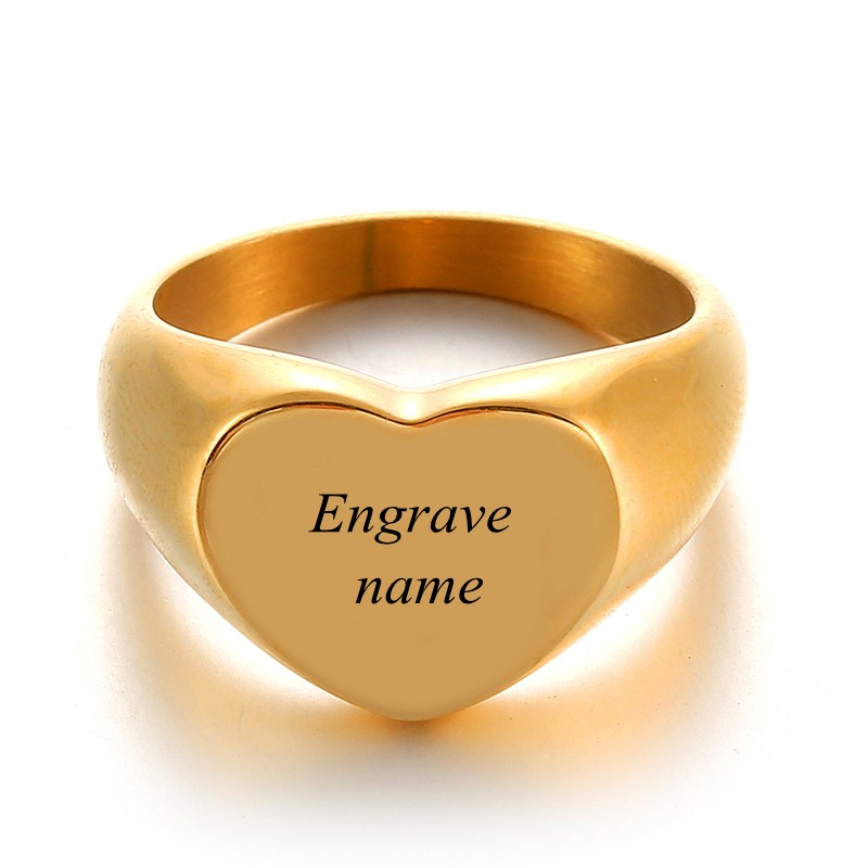 Engrave Text Gold