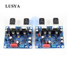 Lusya 2 pçs mx50 se amplificadores de potência de áudio 2.0 canais 100w amplificador kit diy/placa acabada