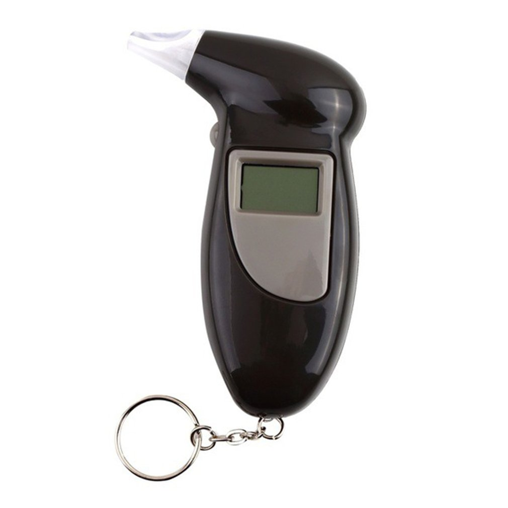 Digital Professional Breath Alcohol Tester Liquid Crystal Display Breathalyzer Breathalyser Alcohol Tester Without Backlight