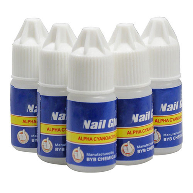 10pcs False Nail Glue False Nails Decoration Acrylic Manicure Glue Nail Tips Glue Fast Drying Manicure Blue Nail Art Tools