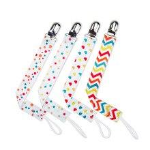 Pacifier Chain Dummy-Clip Nipples-Chupetas Baby Children for Para 4pcs