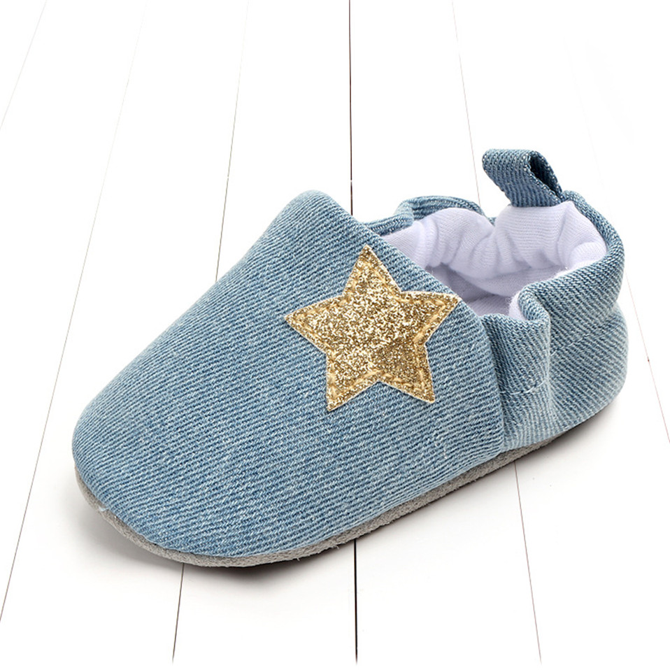 Baby boys girls size 5 soft infant toddler shoes cute flower soles crib shoes footwear for newborns baby shoes