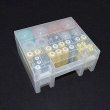 Nhựa Dẻo Trong Suốt Đế Pin Hộp Đựng Cho Pin AA Và AAA Hộp Lưu Trữ Ốp Lưng Pin Tổ Chức Giá Đỡ
