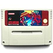 SuperMeetroid 16bit gioco cartuccia per pal console