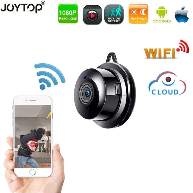 אלחוטי מיני IP מצלמה 1080P HD IR ראיית לילה Wifi מיקרו מצלמה אבטחת בית מעקבים wifi בייבי מוניטור מצלמה