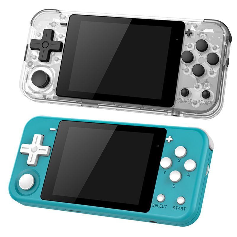 POWKIDDY Q90 Open Dual System Handheld Retro Game Console 12 Simulator D08A