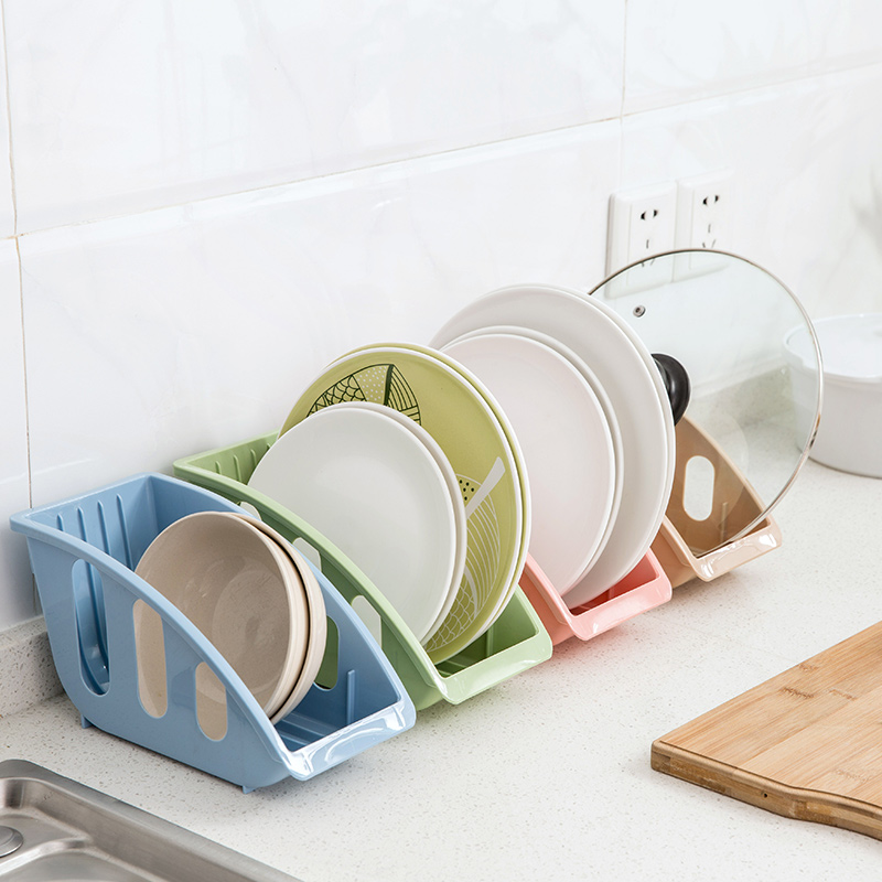 Home Plastic Dish Rack Dish Cupboard Drain Rack Dish Rack Kitchen Supplies Rack Plate Dish Storage Rack LB910102