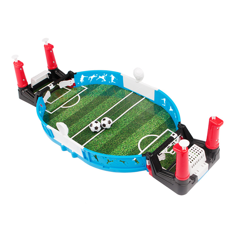 Mini Table Top Football Board Game Set Indoor Game Table Football Kids Favor Child Soccer Tables Double Player image