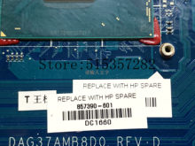Para HP 17-AB 17T-AB Laptop Motherboard 857390-601 857390-501 857390-001 DAG37AMB8D0 Com i5-6300HQ CPU GTX960M 2GB(China)