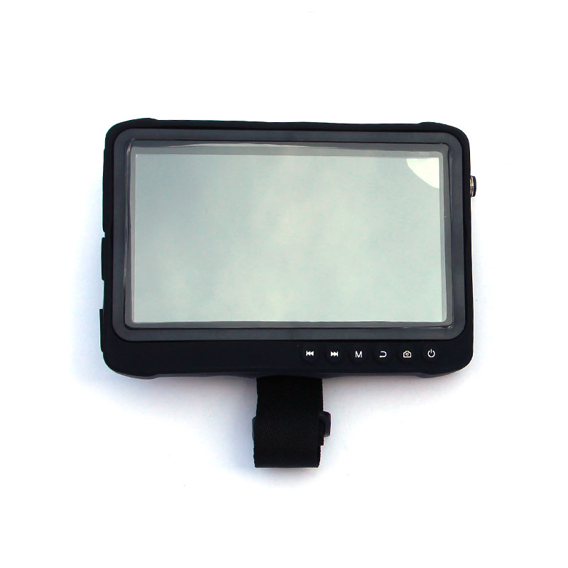 Ip65 waterproof 7 inch 170 degree full view 1024*600 dvr monitor with recording hybrid AHD TVI CVI CVBS input Surveillance System     - title=