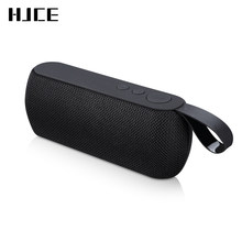 HJCE Portable Bluetooth Speaker Wireless Loudspeaker Sound System 3D Stereo Column Outdoor Speaker Support TF Card FM Aux Input(China)