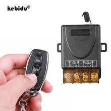 Kebidu AC 110V 240V 30A ממסר אלחוטי RF חכם שלט רחוק מתג משדר + מקלט עבור 433MHz בית חכם מרחוק