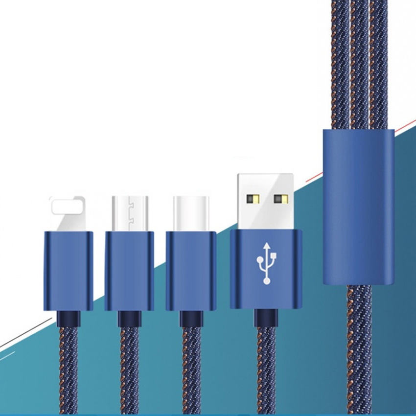<font><b>3in1</b></font> <font><b>USB</b></font> <font><b>Cable</b></font> <font><b>for</b></font> <font><b>iPhone</b></font> X 8 7 6 <font><b>Cable</b></font> Micro <font><b>USB</b></font> Type C <font><b>Cable</b></font> <font><b>for</b></font> Samsung S9 S8 Xiaomi Fast Charging <font><b>Cable</b></font> 2A Charger Cord image