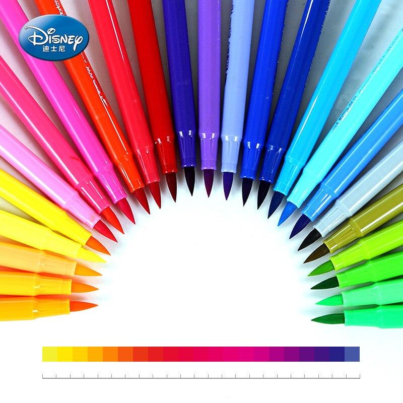 Disney Mickey watercolor pen cute graffiti color pen double-headed 18-color watercolor pen set children's painting gift