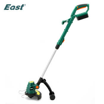 EAST 18V Cordless Grass Trimmer Reel Mower Lawn Mower Telescopic Handle Mower Rechargeable Battery Pruning Garden Tools ET1409 - DISCOUNT ITEM  25 OFF Tools