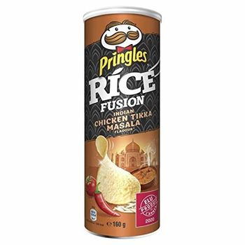 Pringles - Rice Fusion Tandoori Chicken Masala Indian 160G - Lot of 4 - Price Per Lot - Fast Delivery