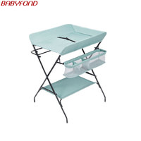 2020 new upgrade Diaper table baby care table baby changing diaper table massage multi function folding shower table