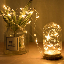 Fairy-Light Pearl-String Christmas Battery-Powered LED Wedding Party 10M 100 Valentines