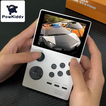POWKIDDY A19 puszka pandory Android supretro przenośna konsola do gier ekran IPS wbudowany w 3000 + gry 3D nowe zabawki do gry WiFi pobierz tanie i dobre opinie 3 25 Bluetooth white yellow blue support wifi bluetooth game boy toys