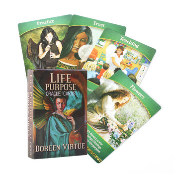 Tarot Cards Life Purpose Oracle Card Full English Party Deck Game Supplies Life Purpose Oracle Cards With Guidebook 1
