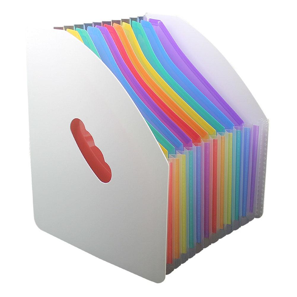 A4 File Folder School Document Organiser Envelopes Desk Storage Student Paper Gifts Expanding Office Receipt Waterproof