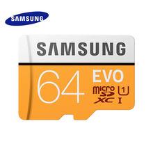 بطاقة ذاكرة سامسونج EVO 64GB SDHC TF48M U1 64G TF95M U3 EVO MicroSD فئة 10 مايكرو SD C10 UHS TF عبر فلاش 32GB 2017 نموذج جديد