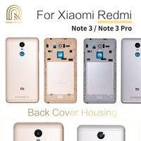 Original para xiaomi redmi nota 3 pro nota 3 voltar capa da bateria habitação porta traseira com botões de volume de energia substituição Estojos de celular     -